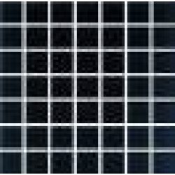 Domenico black glass mosaic 20*20
