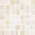 Simple stone beige mosaic 25*25